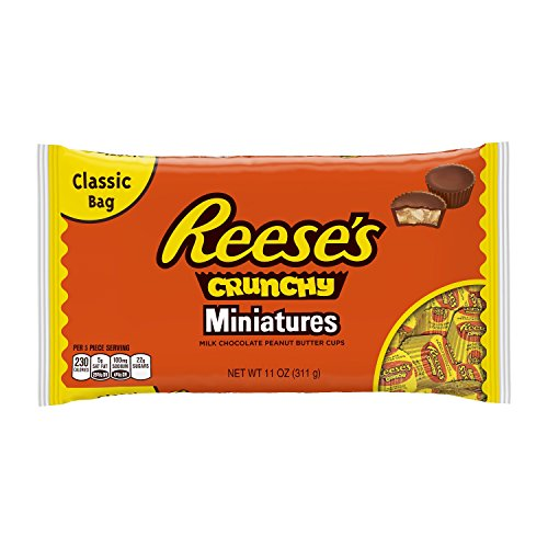 Reese's Crunchy Peanut Butter Cup Miniatures, 11 Ounce (Pack of 12) (Cookie Butter Cups compare prices)