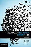 img - for Australian Intellectual Property Law book / textbook / text book