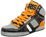 Osiris NYC 83 Lime Black Grey Orange New Hi Top Mens Skate Trainers Shoes Boots