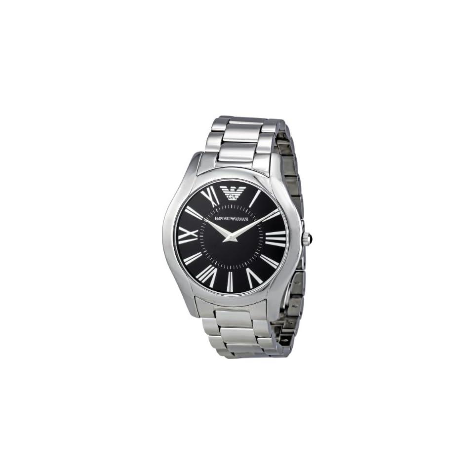 Emporio Armani Mens AR2023 Classic Stainless Steel Bracelet Watch