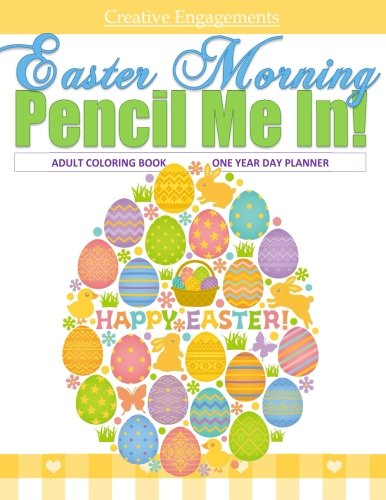 Easter Morning Adult Coloring Book