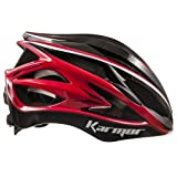 KARMOR(カーマー) ASMA JCF公認 サイクリングヘルメット ブラック+レッド S/M