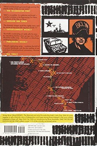DMZ The Deluxe Edition HC Book 1 (Dmz (Deluxe))