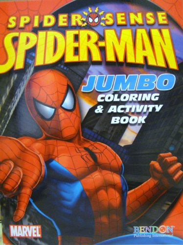 Marvel Spiderman Spider-Sense Coloring & Activity Book ~ Spidey Packed Punch! (2009)