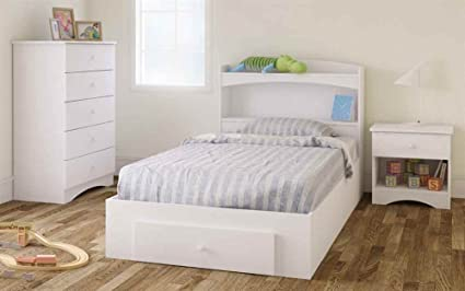 Storage Bedroom Set in White