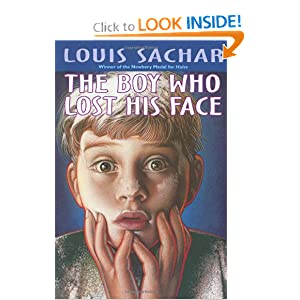 book report on the boy who lost his face