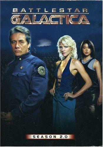 купить сериал Звездный крейсер Галактика / Battlestar Galactica 4 сезона 7 dvd