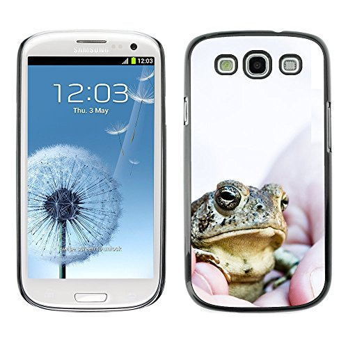 Omega Case Strong & Slim Polycarbonate Cover - Samsung Galaxy S3 Iii I9300 ( Boss Frog )