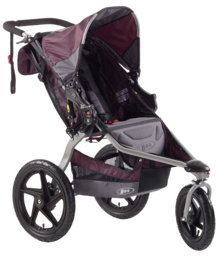 Learn More About BOB Revolution SE Single Stroller, Plum