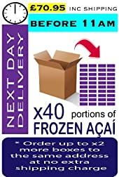 AÇAÍ Frozen - Especial Grade x 40 Portions (Next Day - Before 11am)