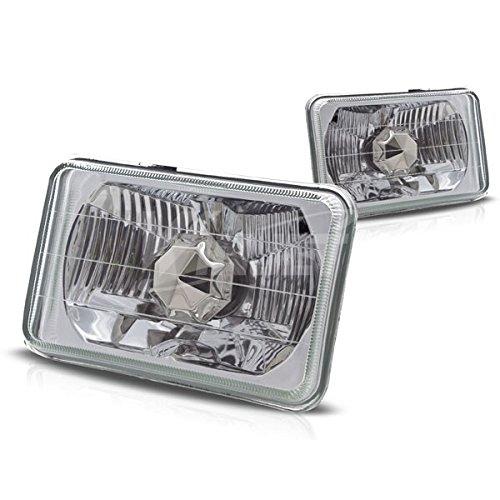 Starr Lite 5' Rectangular Conversion Head Lights With Light Bulb - (Clear)