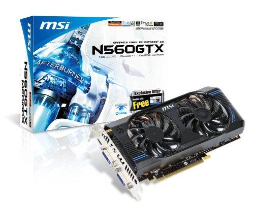MSI N560GTX-M2D1GD5 Video Card