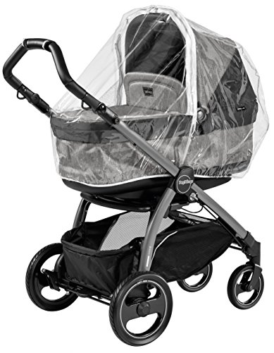 Peg Perego Cover All Weather Hood, Clear - 1