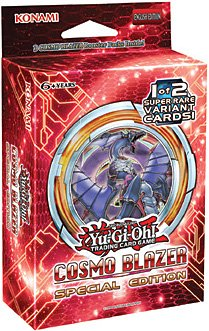 Yugioh Cosmo Blazer Special Edition Mini Box (3 packs and 1 of 2 promo cards)