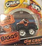 Tonka Adventures of Chuck & Friends BIGGS Die Cast Metal Truck with BONUS DVD