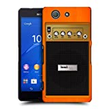 Head Case Designs Orange Chorus Guitar Amp Protective Snap on Hard Back Case Cover for Sony Xperia Z3 Compact D5803 D5833
