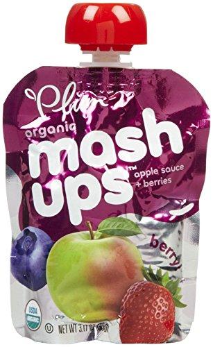 Plum Organics Kids Fruit Mashups - Berry - 3.17 oz - 8 pk - 1