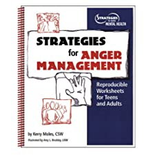 Strategies For Anger Management: Reproducible Worksheets For Teens And Adults [Spiral-Bound] — by Kerry Moles
