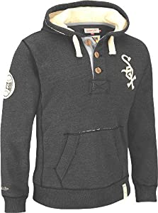 Chicago White Sox Mitchell & Ness Vintage Playmaker Half Button Front Hooded... by Mitchell & Ness