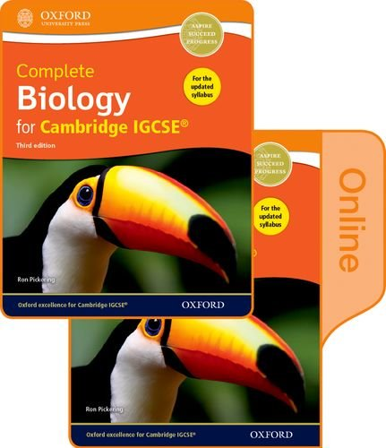 Complete Biology for Cambridge IGCSE® Print and Online Student Book Pack (Third edition)