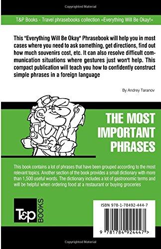 English-Bulgarian phrasebook and 1500-word dictionary