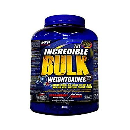 MVP Biotech Incredible Bulk Weight Gainer 3,63 kg - Banane