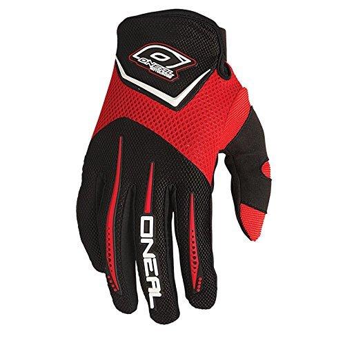 Guanti da bambino O'Neal Element rosso Motocross DH, 0399K -3