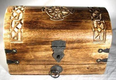 Celtic Cross Treasure Chest (Celtic Knot Bracket compare prices)