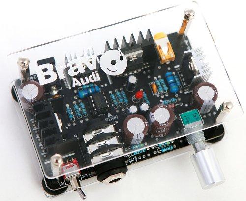 Bravo Audio S1 Solid State Headphone Amplifier