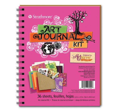 Artterro Art Journal Kit, Hot Pink