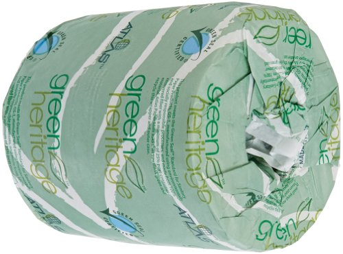 """Green Heritage 235 4.5"""" Length X 3.5"""" Width, 2-Ply Bathroom Tissue (Case Of 96 Rolls, 500 Per Roll) front-583531"""