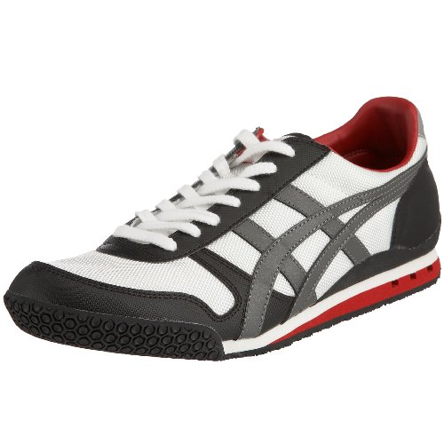 Onitsuka Tiger Unisex-Adult Ultimate 81 White/Shadow Trainer HN201 0191 9 UK