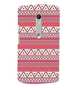 Rangoli Pattern 3D Hard Polycarbonate Designer Back Case Cover for Motorola Moto G3 :: Motorola Moto G (3rd Gen)