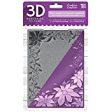 Die'sire EF5-3D-X-POIN 3D Embossing Folder, Clear (Color: Clear)