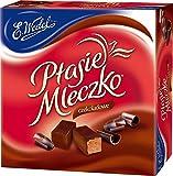 Ptasie Mleczko Chocolate Flavor Marshmallow Covered With Dark Chocolate (Birds Milk), 13.4oz