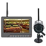 "Safebao 7"" LCD Wireless Video System Funk Überwachungssyste..."