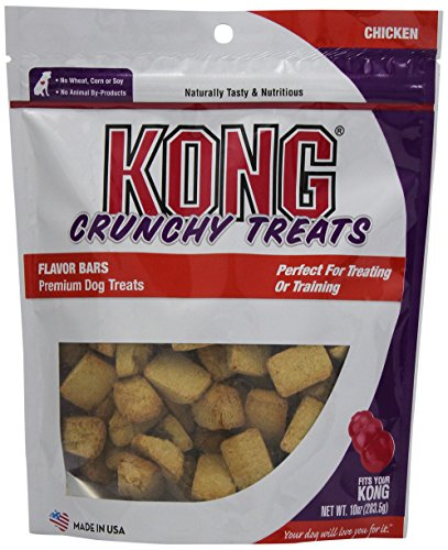 KONG Premium Treats Crunchy Flavor Bars, Chicken