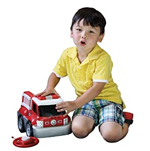 Kid Galaxy My 1st RC GoGo Auto Jumbo Fire Truck