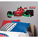 Roommates Rmk1753Gm Cars-2 Francesco Peel And Stick Giant Wall Decal