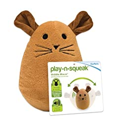 OurPets Play-N-Squeak Wobble Mouse Cat Toy
