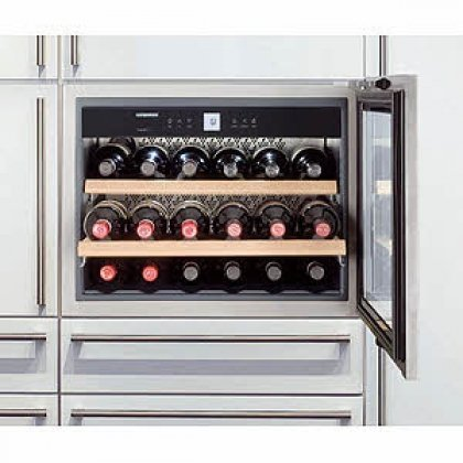 Built In Wine Cooler Cabinet front-23455