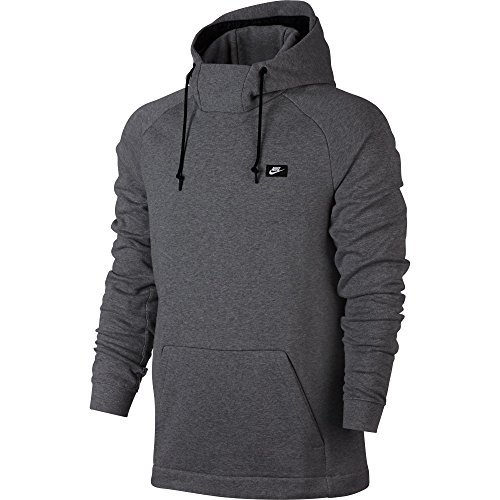 Nike Modern Pull Over Athletic Sportswear Men's Hoodie Carbon Heather 805128-091 (Size 2X)