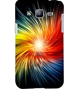 PrintDhaba COLOURFUL PATTERN D-6608 Back Case Cover for SAMSUNG GALAXY J2 (Multi-Coloured)