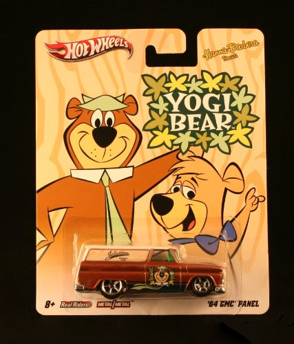 '64 GMC PANEL * YOGI BEAR * Hanna-Barbera Presents Hot Wheels 2011 Nostalgia Series 1:64 Scale Die-Cast Vehicle - 1