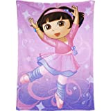 Dora The Explorer: Ballet Adventures Plush Blanket