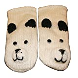Agan Traders Wool Animal Mitten Polar Bear One Size
