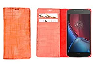 R&A Pu Leather Wallet Case Cover For Samsung Galaxy Note 4