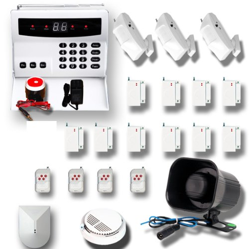 AAS 500 Wireless Home Security Alarm System Kit DIY (R)