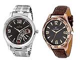 Dezine combo of analog watches-DZ-GR080+400BLK-CMB