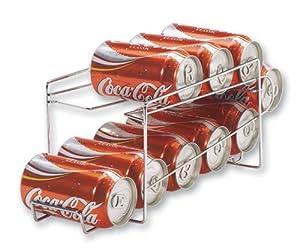 Better Houseware 1496.6 Beverage Can Dispenser, Chrome by Better Houseware